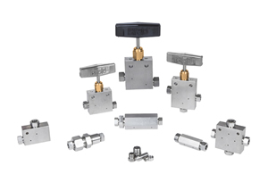 Medium Pressure Needle Valves and Fittings